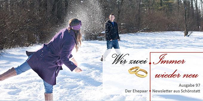 """Ehepaar-Newsletter 01/2021 """"Wir zwei - Immer wieder neu"""" (Foto: pixabay.com)"""
