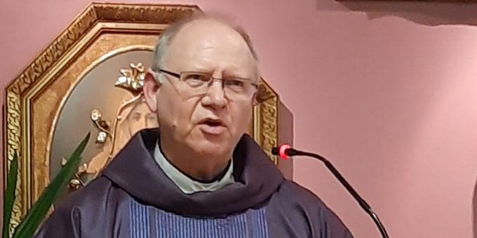 """Emge: """"Wie können wir und alle, die bei der Caritas arbeiten, den Hl. Josef als einen persönlichen Helfer entdecken?""""  (Foto: R.S.)"""
