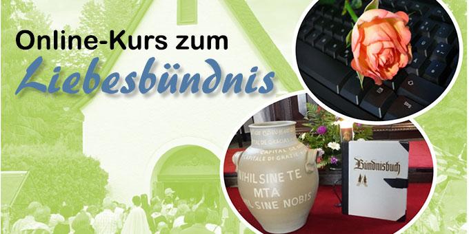 Online-Kurs zum Liebesbündnis - Flyerausschnitt (Foto: Pilgerzentrale)
