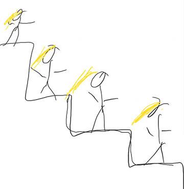 Montagsmaler: Frauentribühne