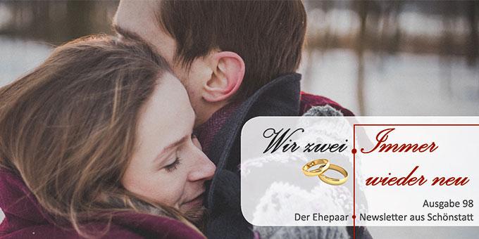 """Ehepaar-Newsletter 02/2021 """"Wir zwei - Immer wieder neu""""  (Foto: Free-Photos, pixabay.com)"""