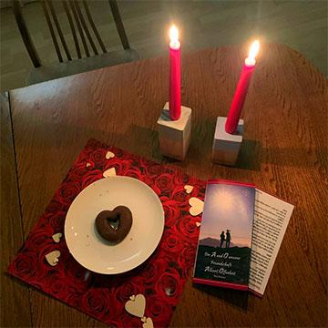 Candlelight-Dinner Abend atHome (Foto: Carolin Brehm)