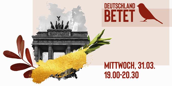 Gebetsinitiative (Foto: Deutschland Betet)