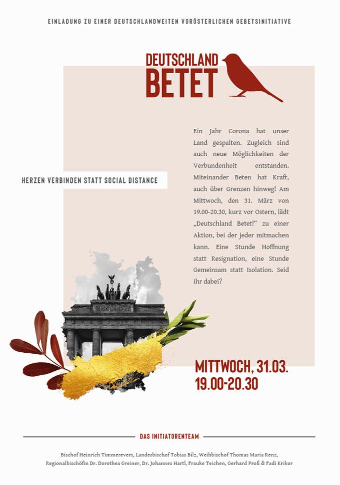 Flyer (Foto: Deutschland betet)