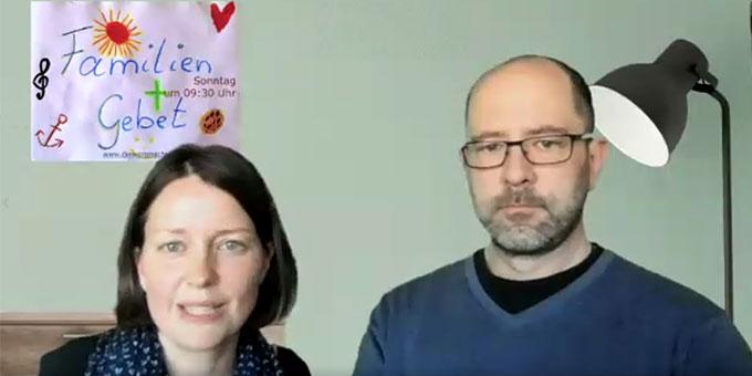 """""""Familiengebet online"""" ist das Projekt von Ehepaar Kathrin und Thomas Karban-Völkl, Kemnath (Foto: Brehm)"""