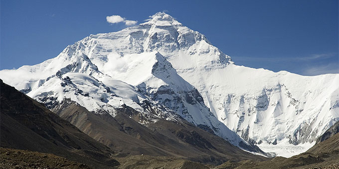 Im Himalaya: Mount Everest (Foto: Lutz6078, Pixabay.com)