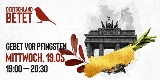 Deutschland betet gemeinsam vor Pfingsten (Grafik: deutschlandbetet.de)