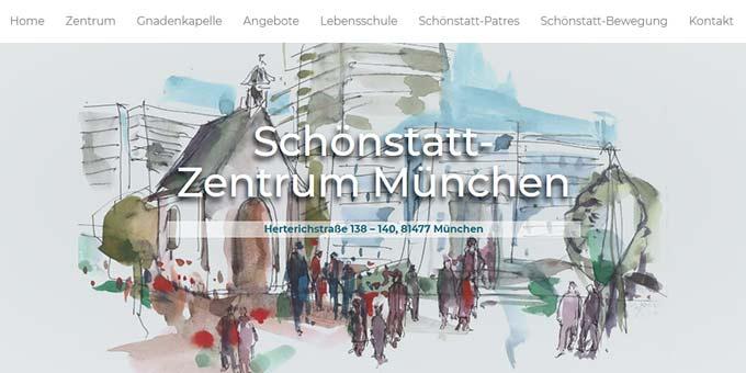 Neue Homepage der Schönstatt-Bewegung München-Freising: www.schoenstatt-muenchen.de