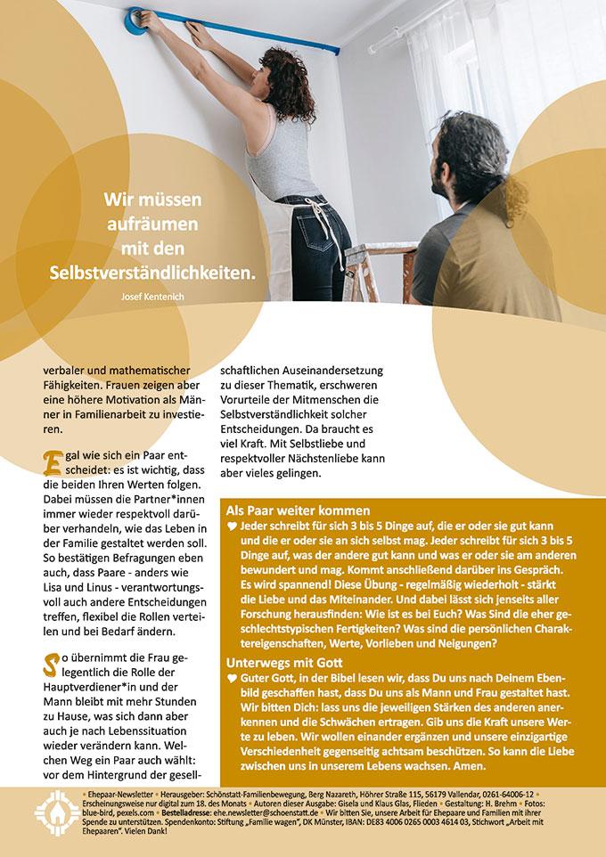 "Ehepaar-Newsletter 04/2021 ""Wir zwei - Immer wieder neu""  (Foto: blue-bird, pexels.com)"