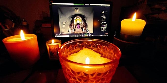 Gemeinsame Gebetszeiten (Foto: MJFDeutschland)