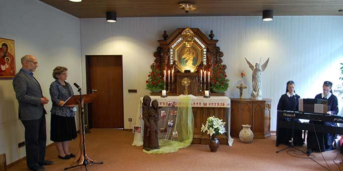 Die Gebetszeiten wurden im Live-Stream übertragen (Foto: Brehm)