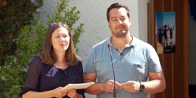 Moderatoren: Ehepaar Kiess (Foto: Brehm)