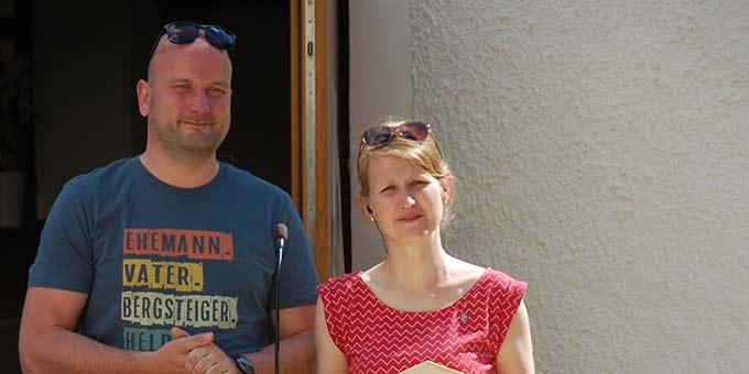 Moderatoren: Ehepaar Hoffmann(Foto: Brehm)