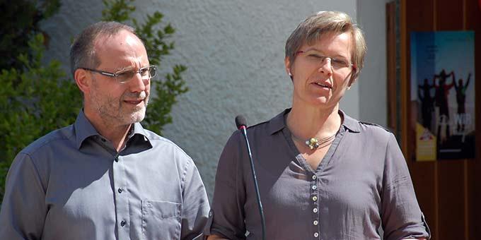 Statement: Ehepaar Miller (Foto: Brehm)