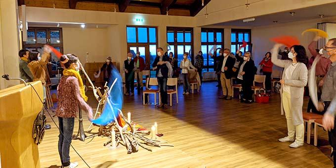 Pfingstvigilfeier im Schönstatt-Zentrum Oberkirch (Foto: Tasch)