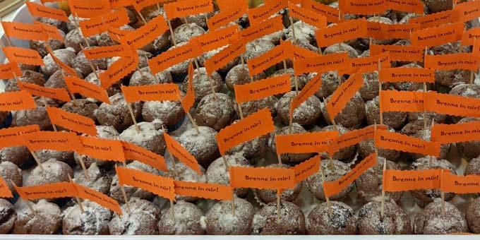 Feurige Muffins zum Mitnehmen (Foto: Tasch)