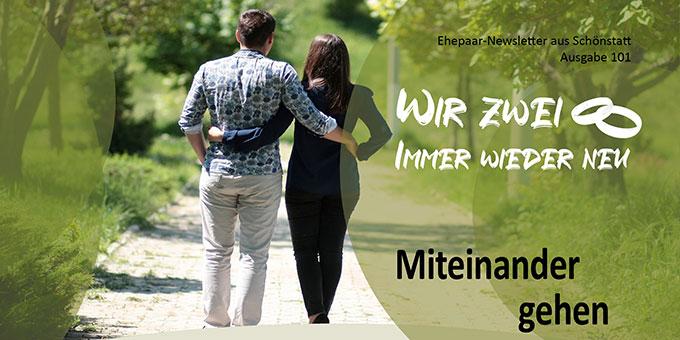 """Ehepaar-Newsletter 05/2021 """"Wir zwei - Immer wieder neu""""  (Foto: Adina Voicu, pixabay.com)"""