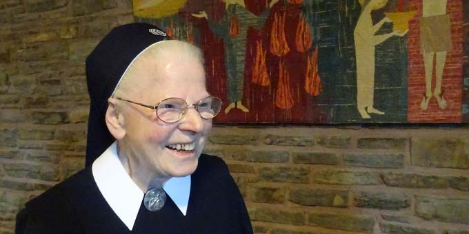 90. Geburtstag: Schwester M. Adelrita Weiss (Foto: Sr. Maribirga, S-MS)