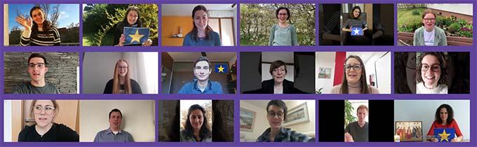 Videos von jungen Menschen über ihre Gedanken zu Europa (Foto: together4Europe.org)