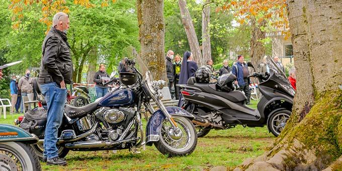 Segen für Motorräder und ihre Fahrer (Foto: W. Raab)