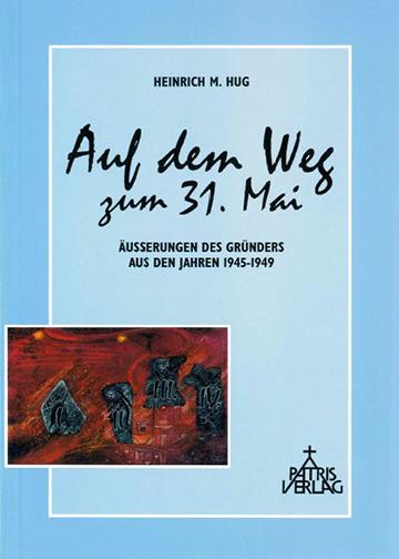 "Buchcover: ""Auf dem Weg zum 31. Mai"" (Cover: Patris Verlag)"