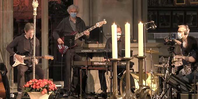 Gregor Linßen und Band (Foto: Videoausschnitt)