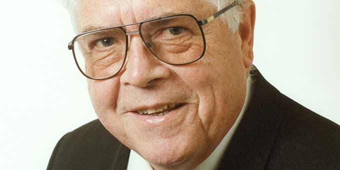 Monsignore Werner Krimm (+2000) (Foto: Brantzen)