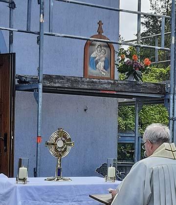 """Martin Emge: """"Diese Frau möchte uns alle anstecken mit dem Christusfeuer"""" (Foto: Siebenkäs)"""