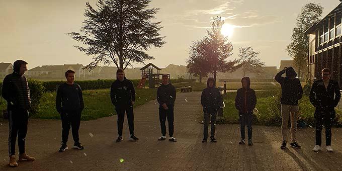 Viele Ausbildungselemente finden im Freien statt (Foto: Maas)