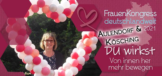 FrauenKongress deutschlandweit in Aulendorf und Kösching (Grafik: s-fm.de; Foto: Heidrun König)