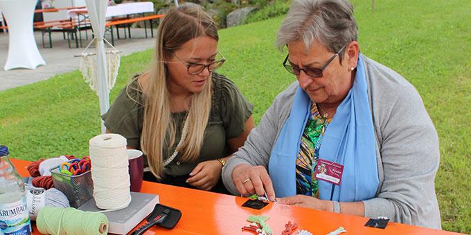Die Teilnehmerinnen kamen aus unterschiedlichsten Generationen (Foto: Heidrun König)