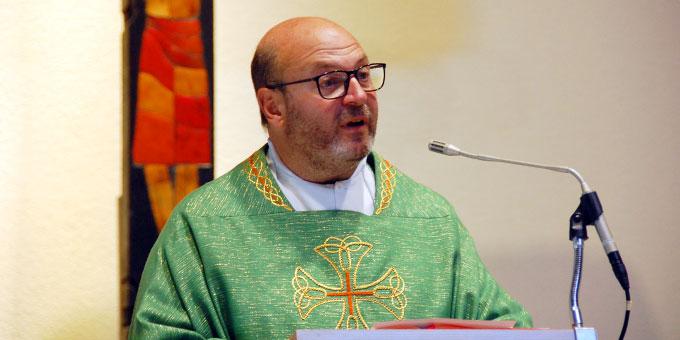 Pater Pablo Pol ISch, Rektor des Urheiligtums (Foto: Brehm)