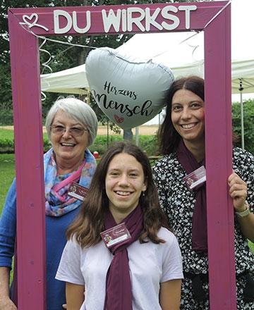 Oma, Mutter und Tochter unter den Teilnehmerinnen (Foto: Annika Schindler)