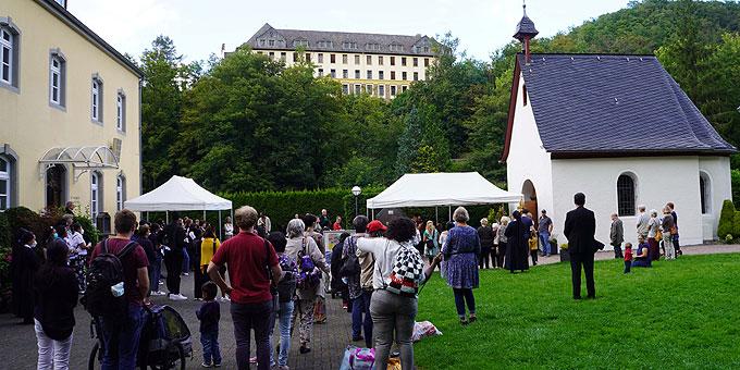 Abschluss des Fest am Urheiligtum (Foto: PZ Schönstatt)