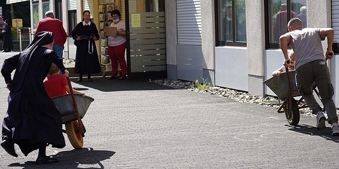 Spaß beim Kinderprogramm (Foto: PZ Schönstatt)