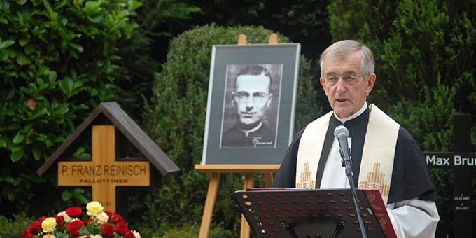 Gedenkfeier am 79. Todestag von Pater Franz Reinisch (Foto: Brehm)
