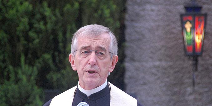 Ansprache: Pater Dr. Heribert Niederschlag SAC (Foto: Brehm)