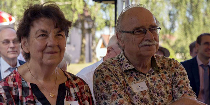 Eva und Erich Berger (Foto: Martin Kräftner)