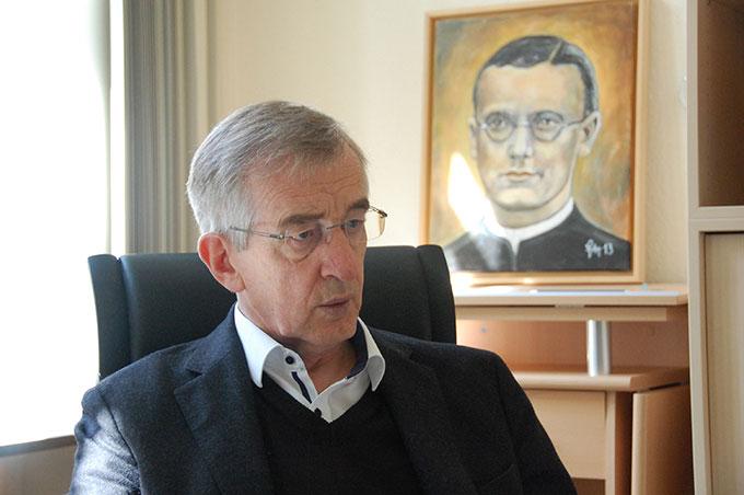 Pater Heribert Niederschlag (Foto: Brehm)