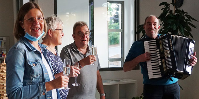 Gute Stimmung beim FamilienurlaubPLUS der Schönstatt-Familienbewegung Münster im Schönstatt-Zentrum Dietershausen (Foto: Julian Mergler)