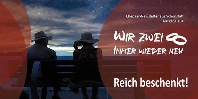 """Ehepaar-Newsletter 08/2021 """"Wir zwei - Immer wieder neu""""  (Foto: ELG21, pixabay.com)"""