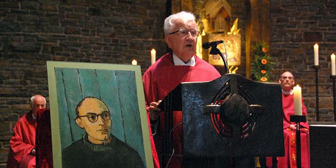Festgottesdienst in der Anbetungskirche aus Anlass von 25 Jahre Seligsprechung von Karl Leisner (Foto: Brehm)