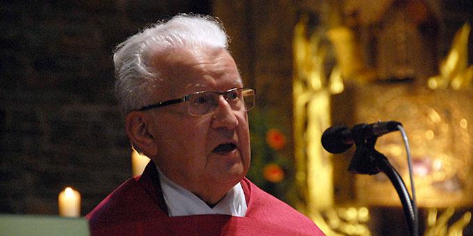 Predigt: Pfarrer Oskar Bühler, Schönstatt-Institut Diözesanpriester (Foto: Brehm)