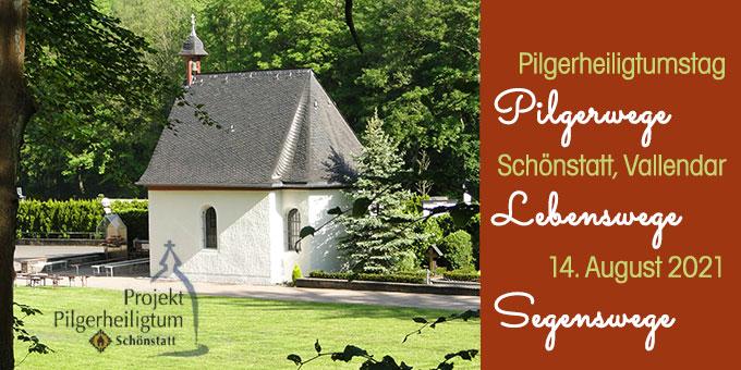 Pilgeheiligtumstag in Schönstatt, Vallendar (Foto: Sr. M. Nilza)