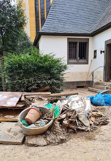 Auch viele kirchliche Gebäude sind von der Flut direkt betroffen (Foto: s-ms.org)