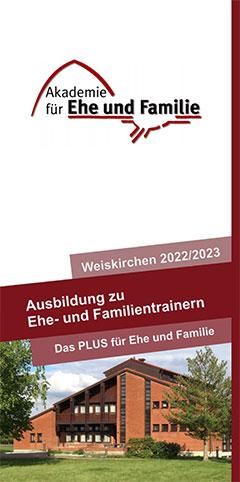 Cover Flyer (Foto: Akademie für Ehe und Familie Mainz)
