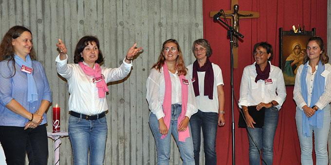 """Am 3. September-Wochenende fand der """"Frauenkongress deutschlandweit"""" im Schönstatt-Zentrum Borken statt (Foto: Peitz)"""