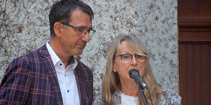 Ehepaar Regina und Michael Kulla, Schönstatt Familienbund und Mitglieder im Kuratorium Haus der Familie (Foto: Brehm)