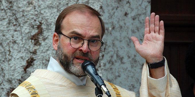 Pater Stefan Strecker, priesterlicher Begleiter der Schönstatt-Familienbewegung Deutschland (Foto: Brehm)
