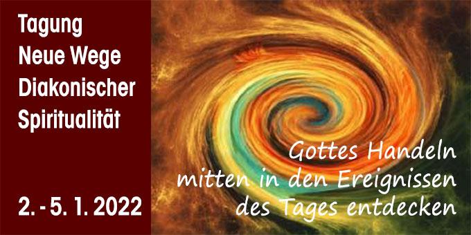 Tagung: Neue Wege Diakonischer Spiritualität (Layout: POS, Grafik: pixabay.com)